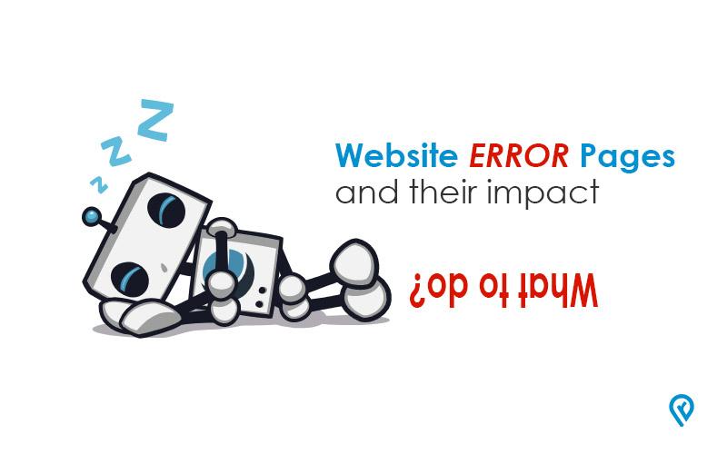 website error pages